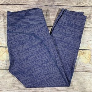 Outdoor voices cropped Capri leggings blue XL